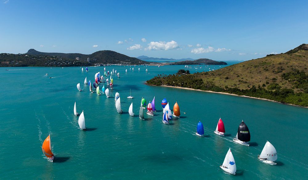 Social and sailing at its best, Audi Hamilton Island Race Week.