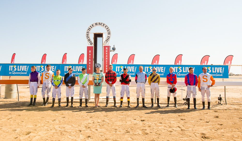 The race that stops the outback - Birdsville Races, Queensland.