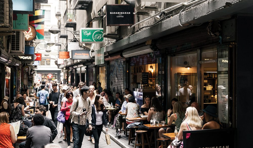 Coffee craving in Melbourne? Head to Centre Place.