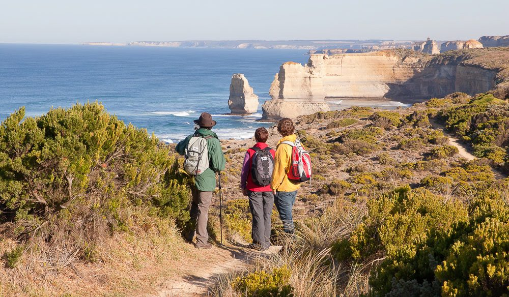 Almost there: the Twelve Apostles.