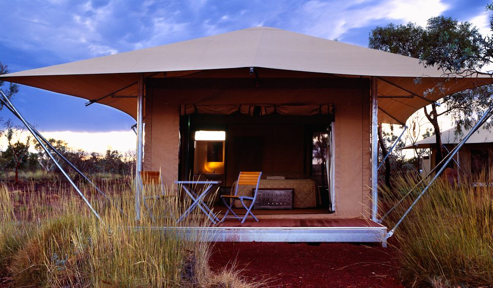 Karijini Eco Retreat, an oasis in the middle of the Pilbara.