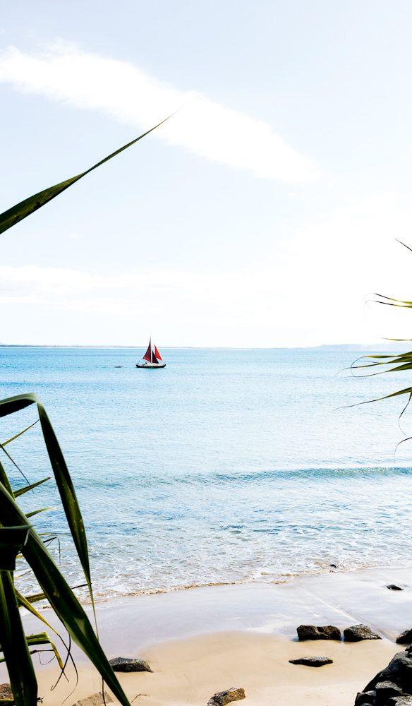 The calm waters of Noosa's Little Bay   (photo: Elizabeth Allnutt).