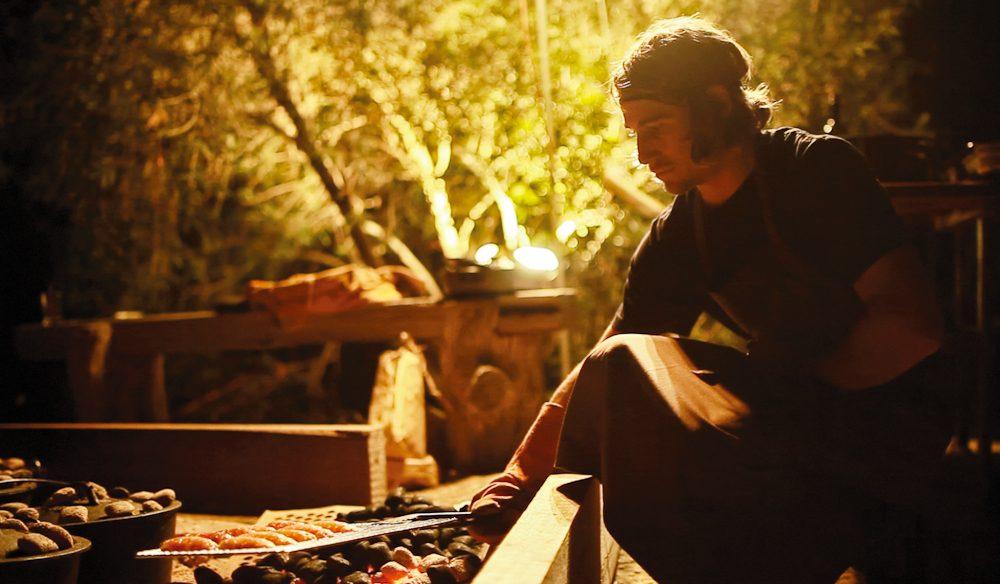 Paul Iskov's roaming restaurant Fervor - think outdoors, open fires and pop-up.
