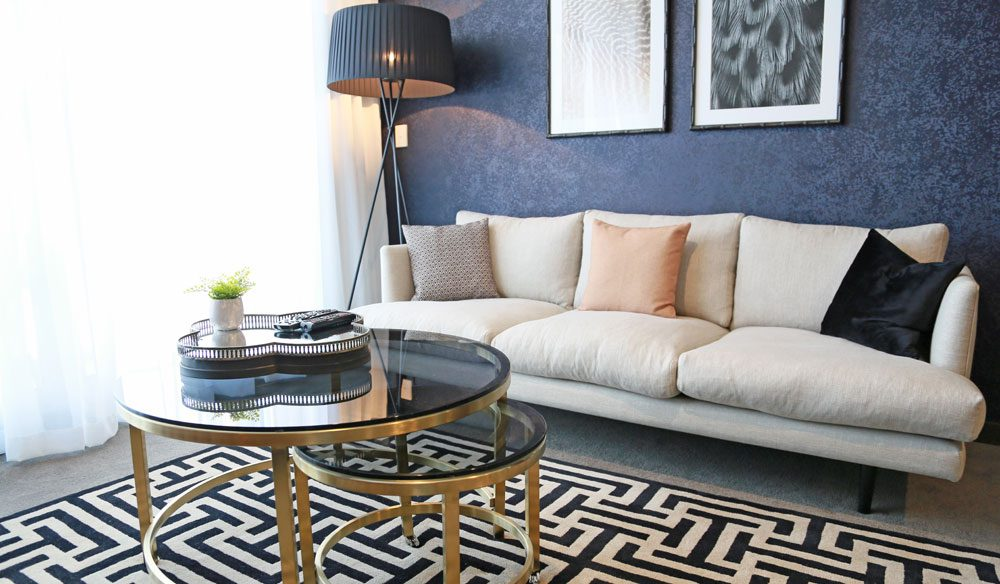 At Alex Perry Hotel and Apartments, the design is spacious and inviting with textural neutrals and lashings of pewter and charcoal.  From studio-style hotel rooms through to executive apartments, this is self-contained with style.