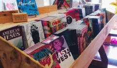 Thumb through the collection of independent zines and graphic novels plus hard-to-find comics stacked in handmade shelves at Junky Comics.