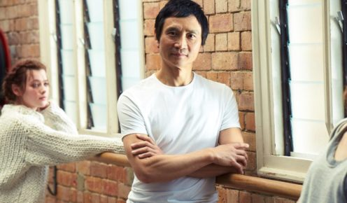 Brissie local and lover Li Cunxin, Queensland Ballet's artistic director.