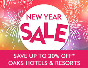 Oaks new year sale is now on