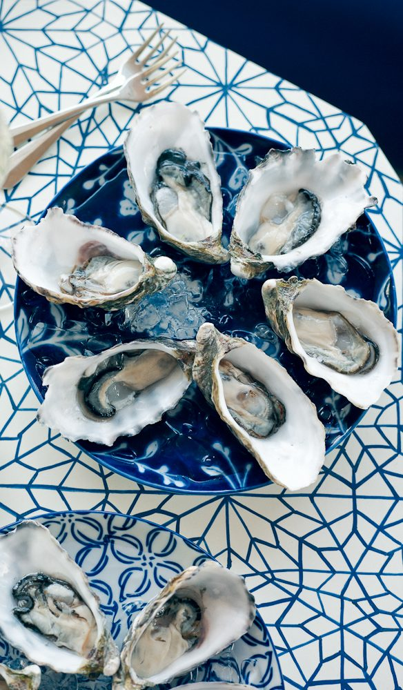 Mr and Mrs G's ultra-fresh oysters