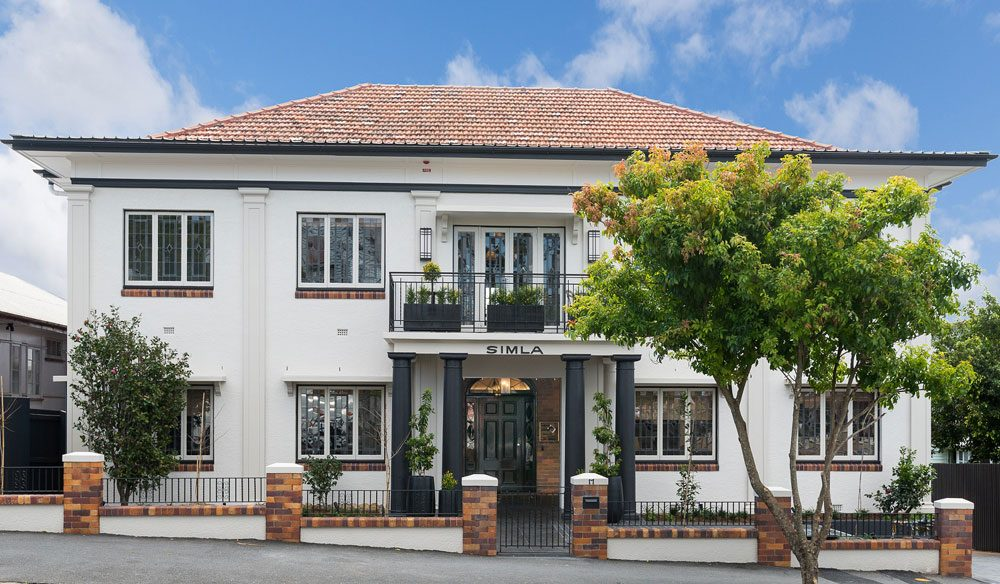 Tucked away in a quiet side street in New Farm, and housed across both a sweet Queenslander cottage and 1940s Art Deco apartment block, Spicers Balfour is more inner-city retreat than regular hotel.