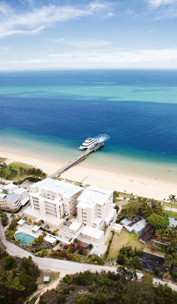 Tangalooma Island Resort on Moreton Island, Queensland.