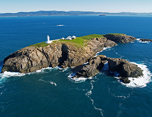 Exclusive walking tour of historic lighthouse, helicopter flights, two weekends only.