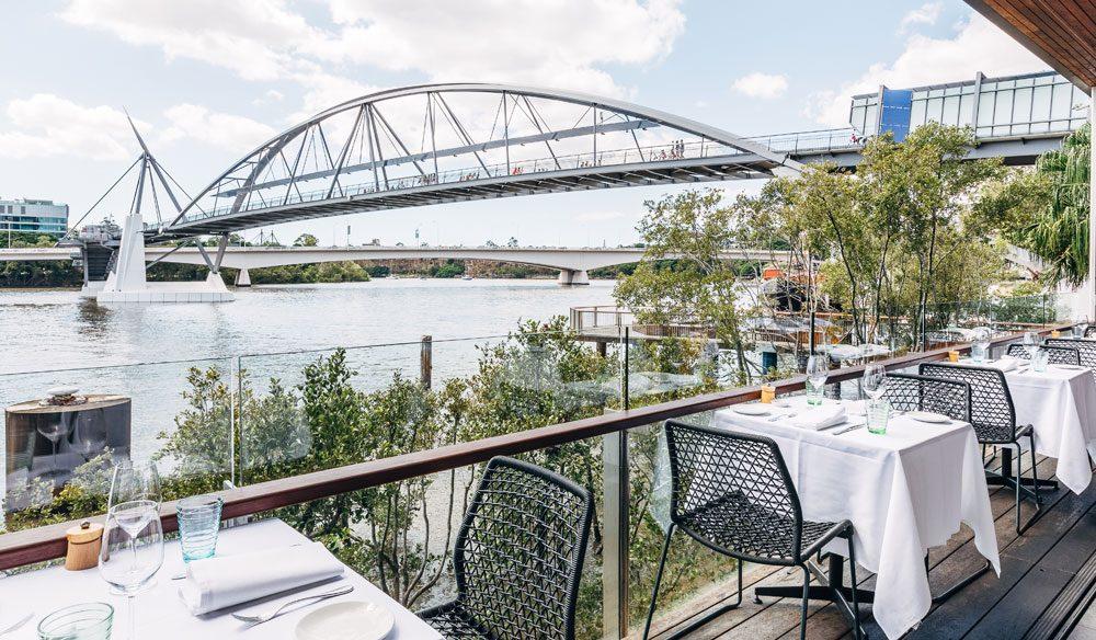 One of Brisbane's finest restaurants, Stokehouse.