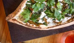 Pizza with a Lebanese twist at The Moor's Head