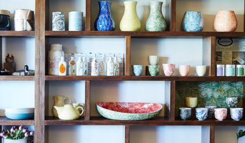 Green Tangerine brings a modern edge to the antique centre (photo: Alicia Taylor).