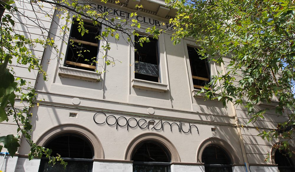 The Coppersmith Hotel has changed a lot since the Cricket Club days.