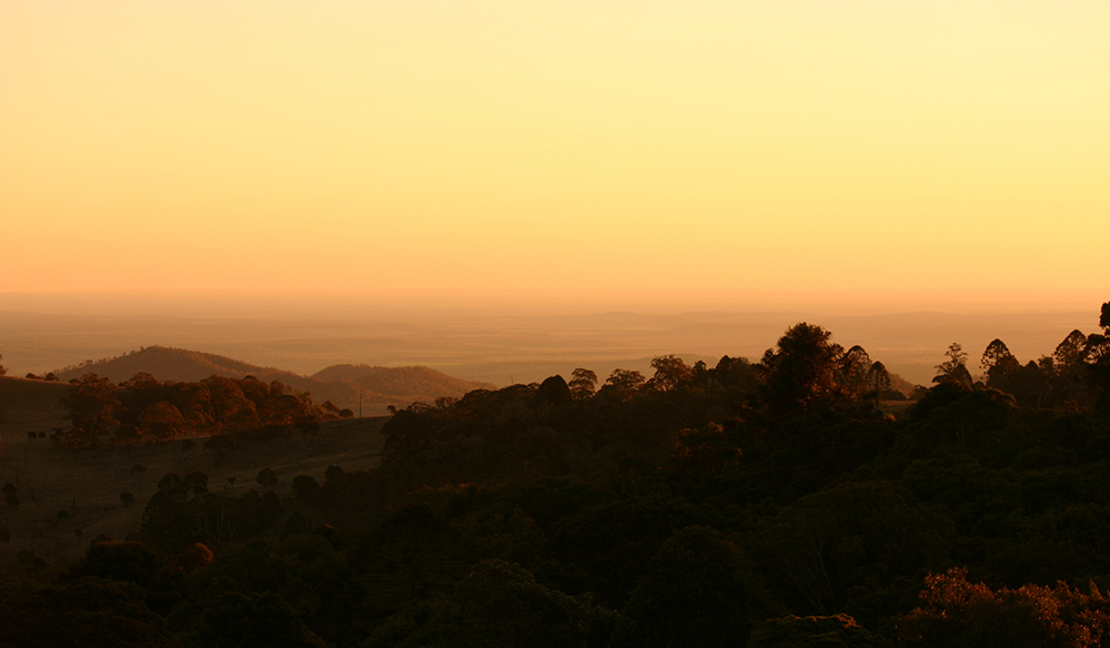 This was a sunset taken at Bunya Mountains (3 hours west of Brisbane Australia)