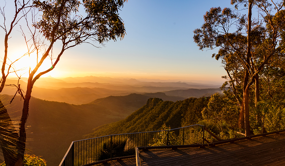Gold Coast Hinterland Sunset