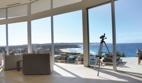Room with a view at Southern Ocean Lodge.