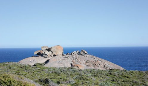 The bizarre form of the Remarkable Rocks.