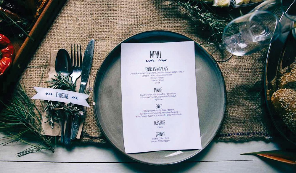 Personal touch: Kinfolk Dinner, Melbourne.