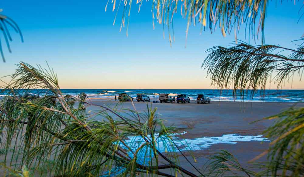 Kingfisher Bay Resort 4WD