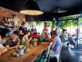 Laneway's Laneway Specialty Coffee's buzzing interior.