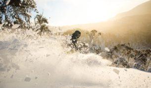 Powder days Thredbo Australia