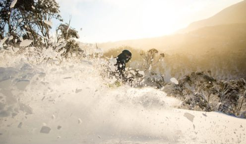 Thredbo has ample off-piste opportunities.