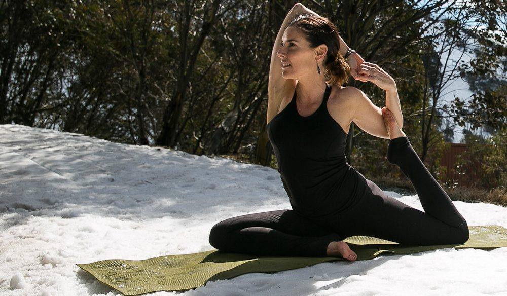You Have To Try Snowga Where Yoga And The Snow Become