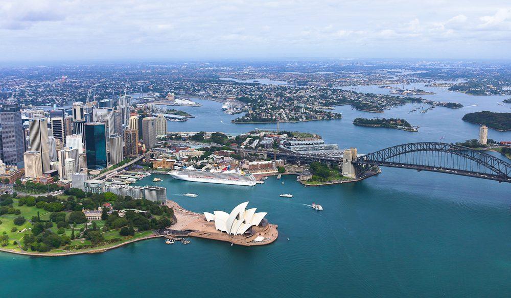 Sydney from above1 - credit Megan Blandford
