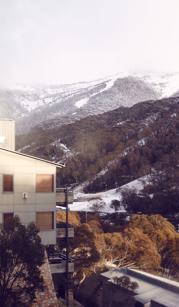 Snow fall Thredbo