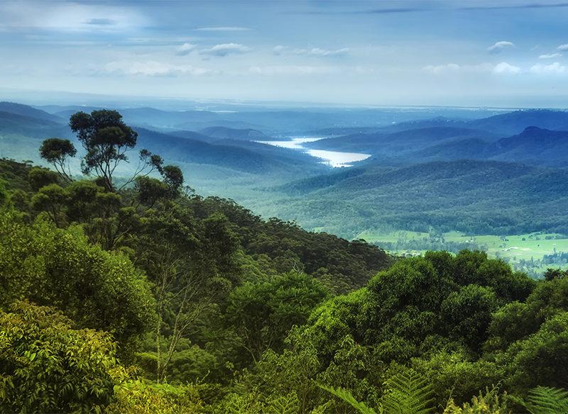 Lamington National Park to Hinze Dam in Queensland's Gold Coast hinterland