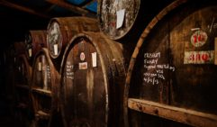 Barrels of Buller's renowned fortified wines.