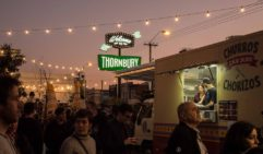 Welcome to Thornbury: Food truck paradise.