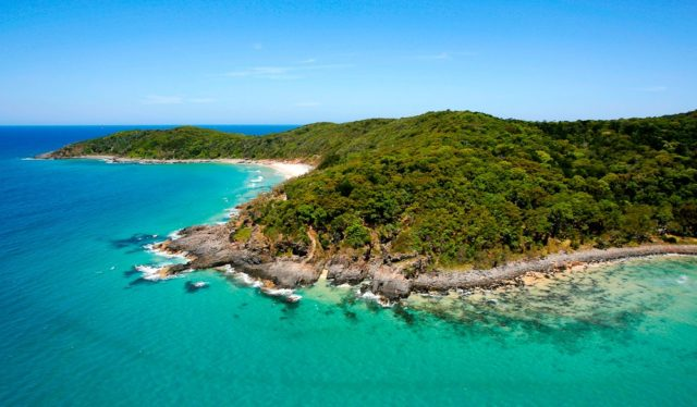 Noosa from above