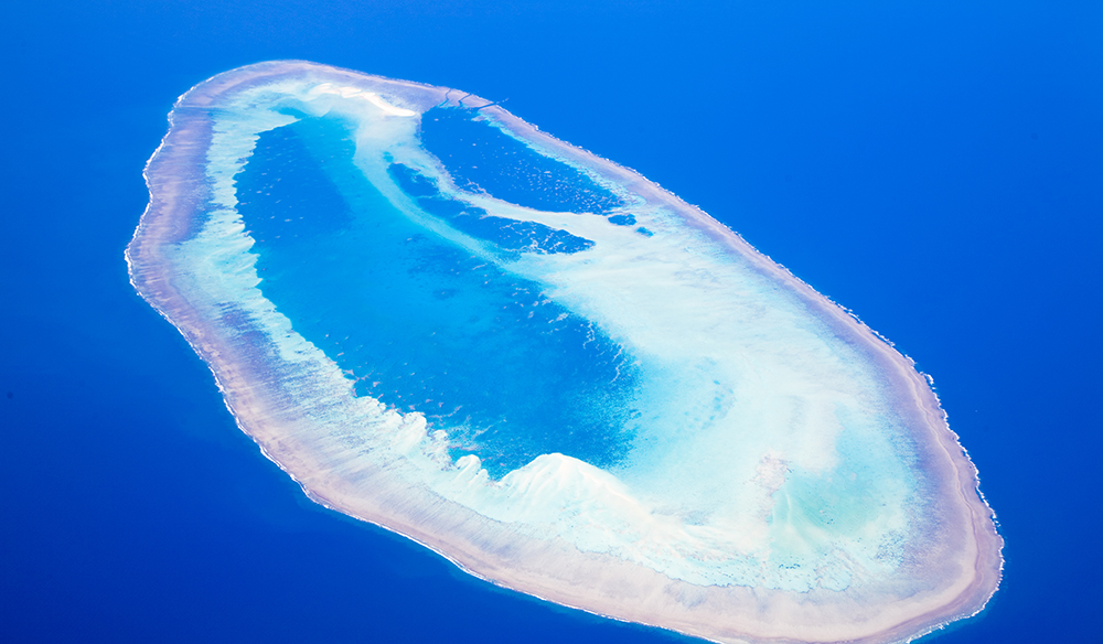 Coral Atoll off the coast of Western Australia