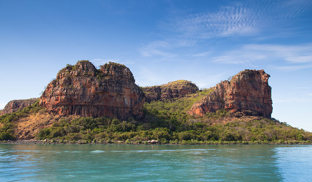 The Hunter River is a river in the Kimberley region of Western Australia