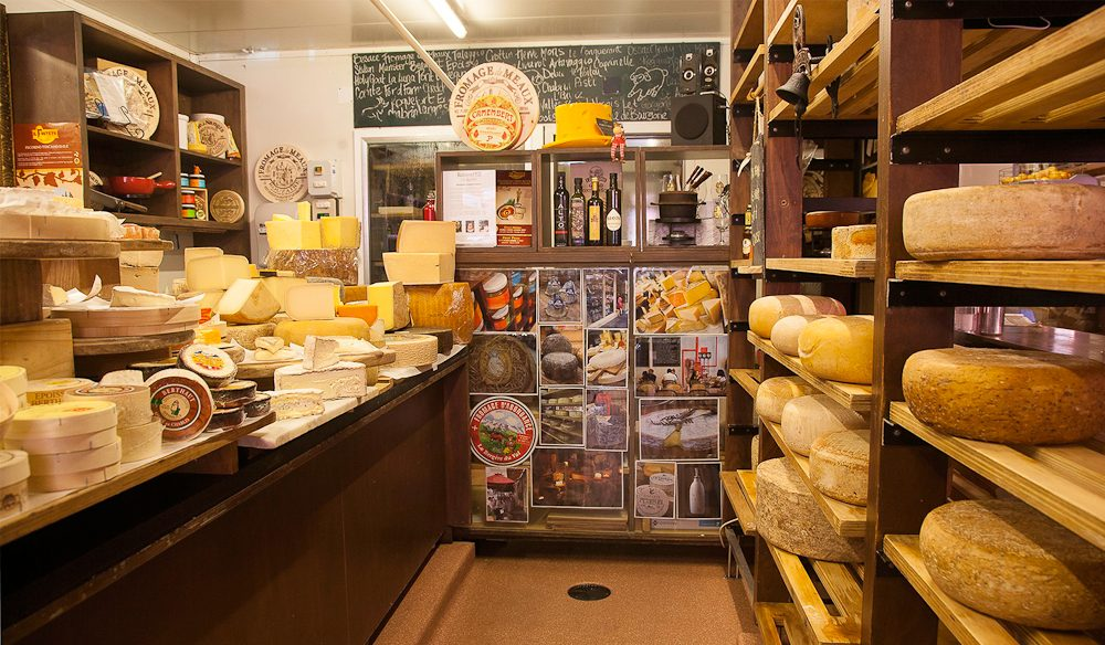 Richmond Hill Cafe And Larder Cheese Room