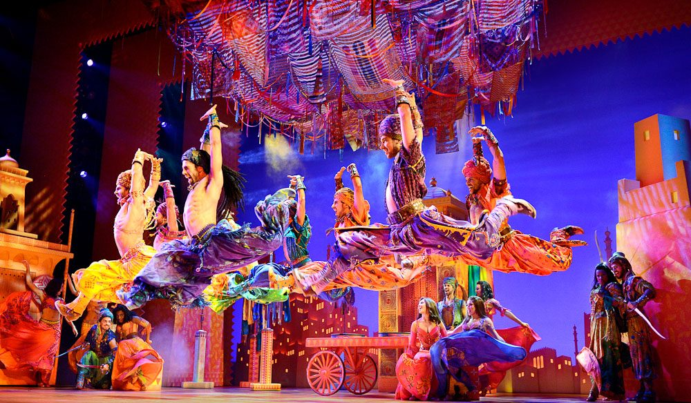 Your Arabian Nights' fantasies in the flesh: Aladdin The Musical (photo: Deen van Meer).