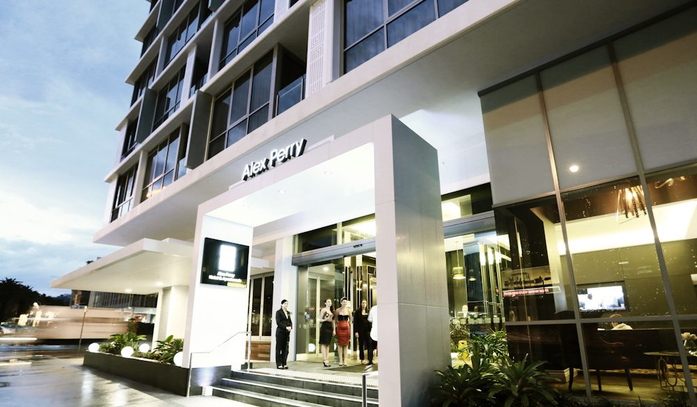 Alex Perry Hotel & Apartments Fortitude Valley Queensland Exterior Entrance