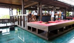 Balinese-style Salt House bar on the Cairns' waterfront.