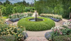 Water Fountain in the Alowyn Gardens