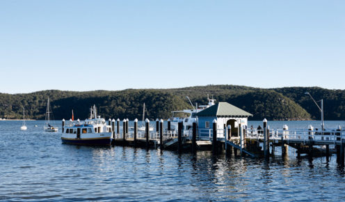 Catch the ferry from Palm Beach's pretty wharf.