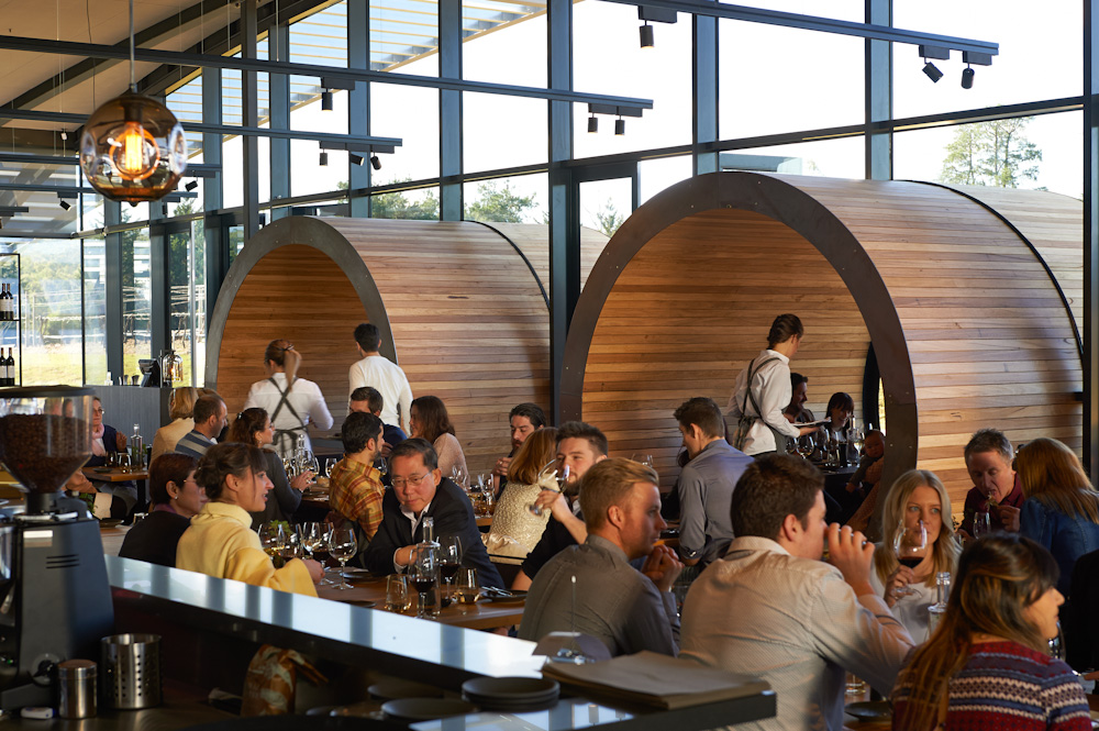 Levantine Hill Estate is a combination of bold design, great wines and top tier food prepared by hatted chefs.