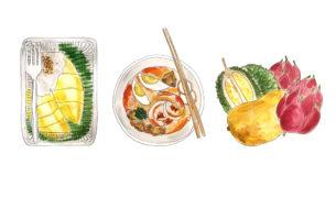 Rapid Creek Markets food illustration