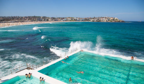 It had to be... Bondi Beach is number 4th most Instagram worthy spot in Australia,