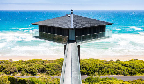 Great Ocean Road icon; The Pole House, Fairhaven.