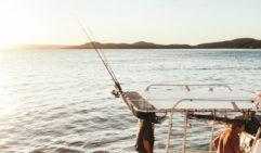 Fishing for dinner along the Kimberly coast (photo: Brook James).