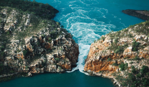 Horizontal Falls is perhaps the Kimberly's most famous sight (photo: Brook James).