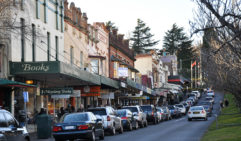 The country-town quaint Leura Mall (photo: Megan Arkinstall).